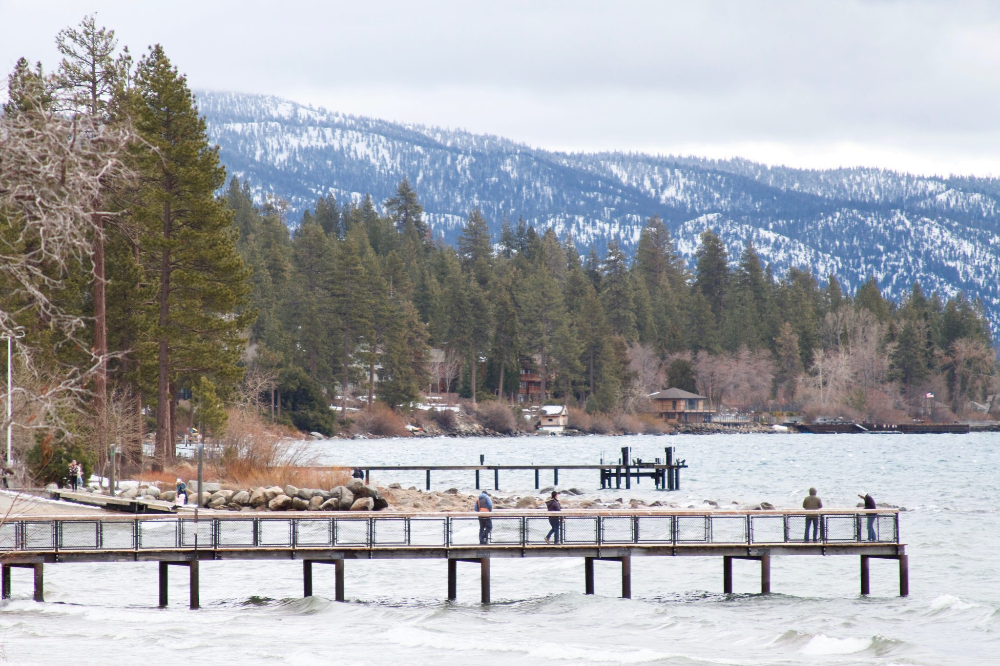 February 2017 - An epic, record snowfall winter season in the Lake Tahoe Area. Photo by Jamie Balaoro