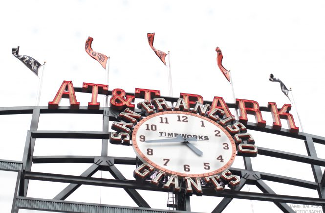 AT&T Park--home of the San Francisco Giants. Photo by Jamie Balaoro