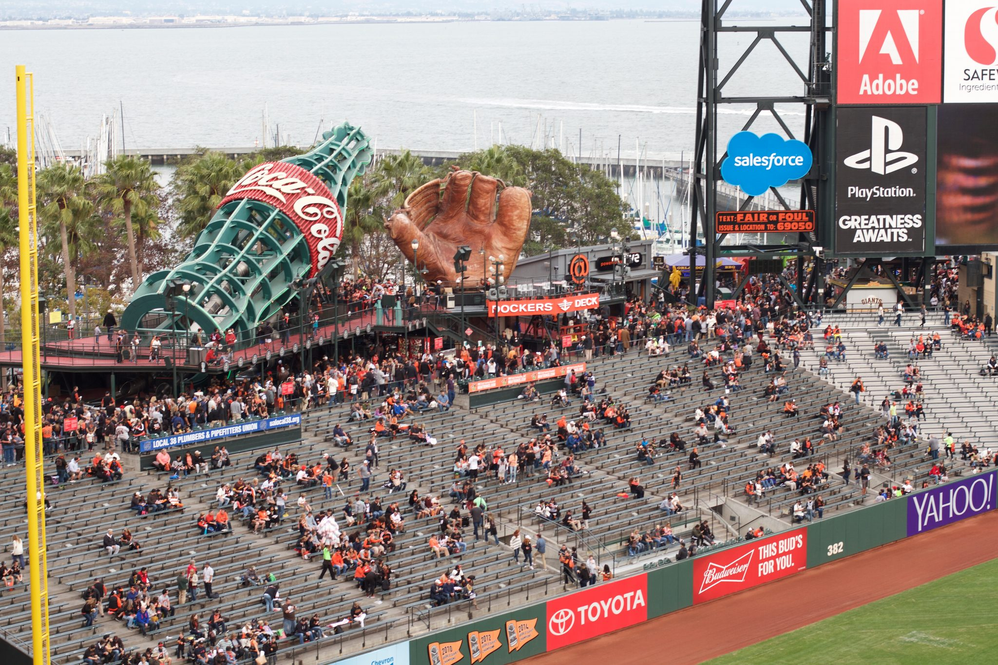 September 2015 - AT&T Park, San Francisco, CA. Photo by Jamie Balaoro