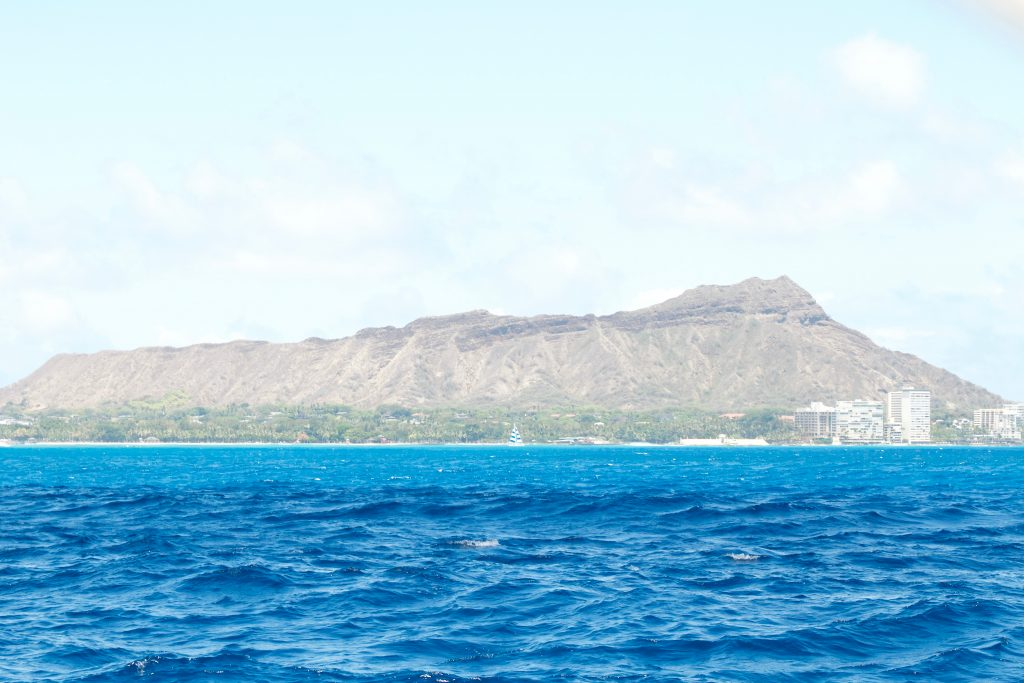 Lēʻahi, popularly known as Diamond Head, in O'ahu, Hawaii. Photo by Jamie Balaoro